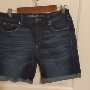 AEO Skinny Bermuda Jeans Shorts